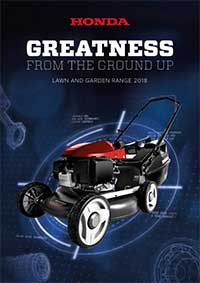 Honda 2018 Lawn and Garden Brochure