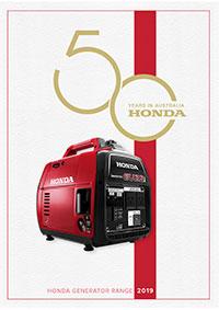Honda 2019 Generator Brochure