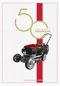 Honda 2019 Lawn and Garden Brochure