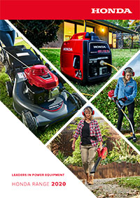 Honda 2020 Lawn and Garden Brochure