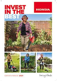 Honda 2021 Lawn and Garden Brochure