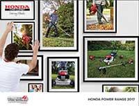 Honda PE Lawn and Garden 2017