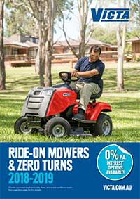 Victa Ride-on Mowers & Zero Turns 2018-2019