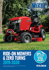 Victa Ride-on Mowers & Zero Turns 2019-2020